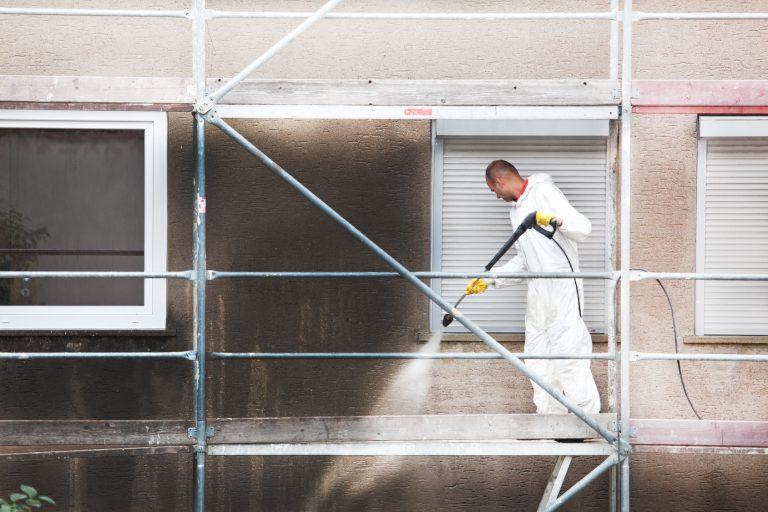 Vogel Reinigungsservice Fassadenreinigung